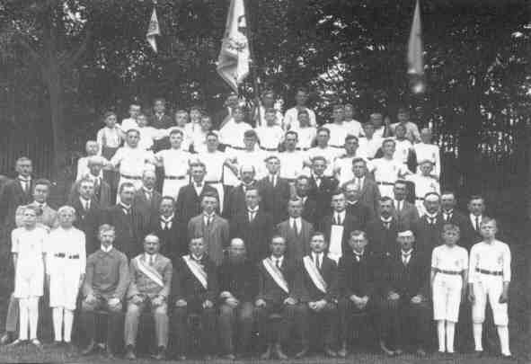 Fahnenweihe 1926